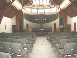 Sanctuary Rear View