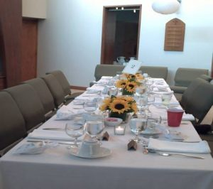 Sanctuary (alternate banquet setting)